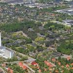 Luftfoto af Glostrup Hospital