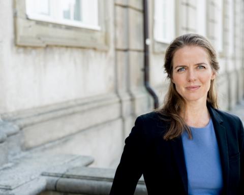 Ellen Trane Nørby ved Christiansborg